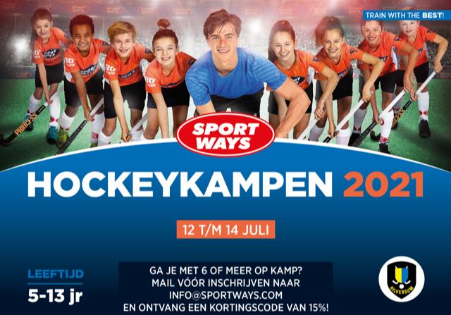 SportWays Hockeykamp in de zomervakantie 2021 op Hilversum